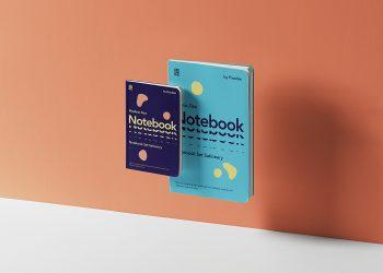 Gravity Notebook Set Mockup