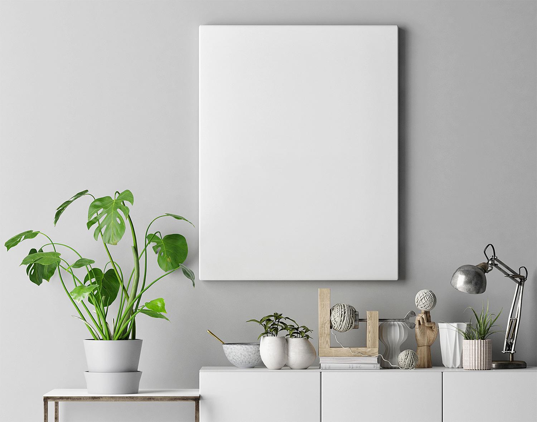 Interior Poster Frame Mockup Free