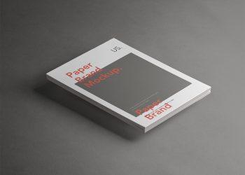 PSD A4 Paper Brand Mockup