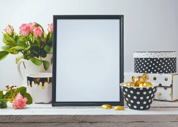 Photo Frame Free Mockup PSD