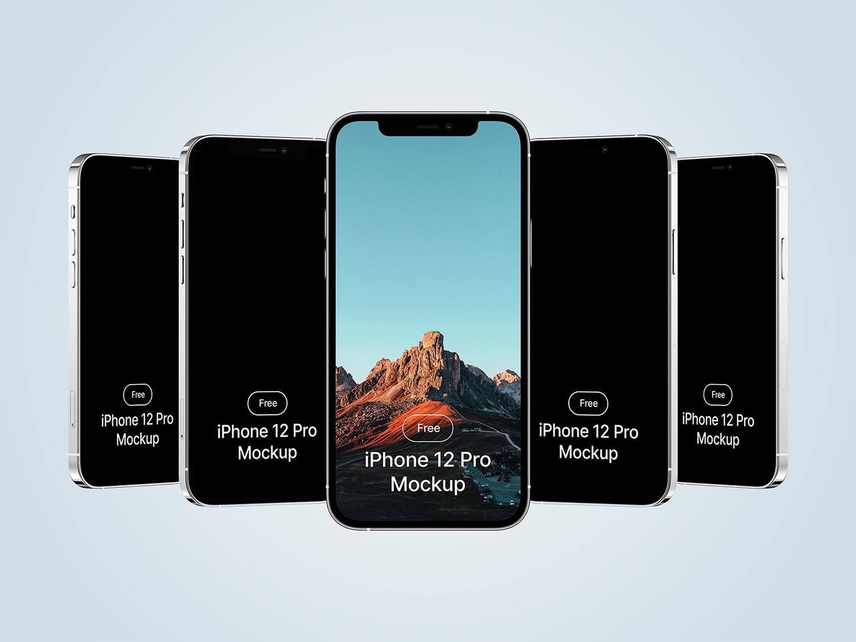 iPhone 12 Pro Free Mockup