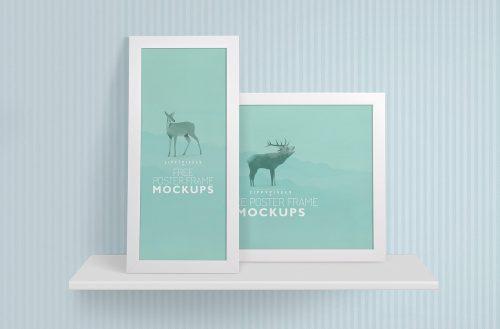 2 Free Photo Frame Mockups