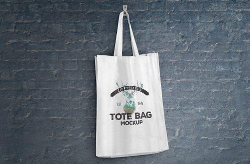 2 Free Tote Bag Mockups