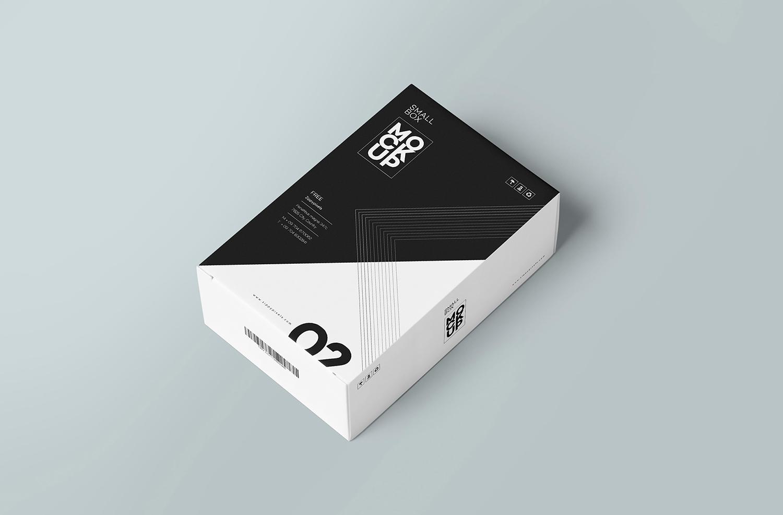 Free Customizable Card Box Mockup