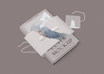 Free Customizable Hardcover Book Mockup