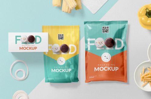 Free Food Packaging Mockup PSD