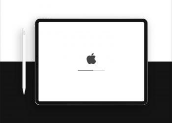 Free New iPad Pro & Apple Pencil Mockup