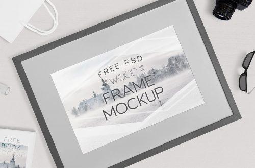 Free Photography Frame Mockup