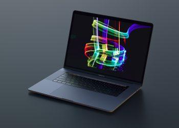 MacBook Pro Sketch Photoshop Mockup