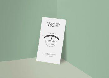 Customizable Free Business Card Mockup