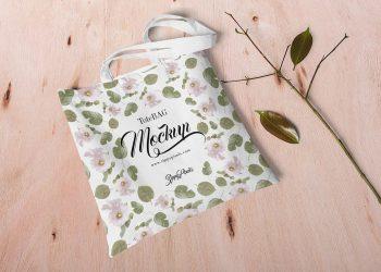 Free Customizable Canvas Bag Mockup
