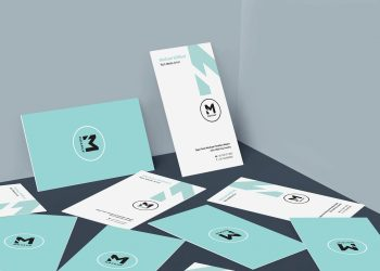 Free Magnificent Business Card Mockup