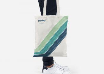 Free Tote Bag Mockup PSD