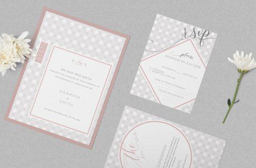 Free Wedding Invitation Mockup PSD