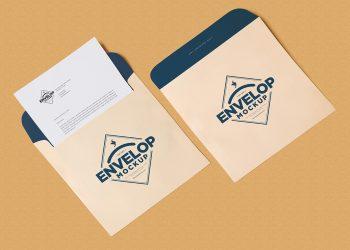 Unique Squared Shaped Envelope PSD Mockup