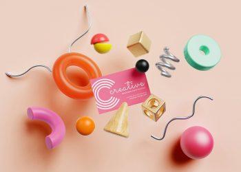 Сreative Business Card Mockup