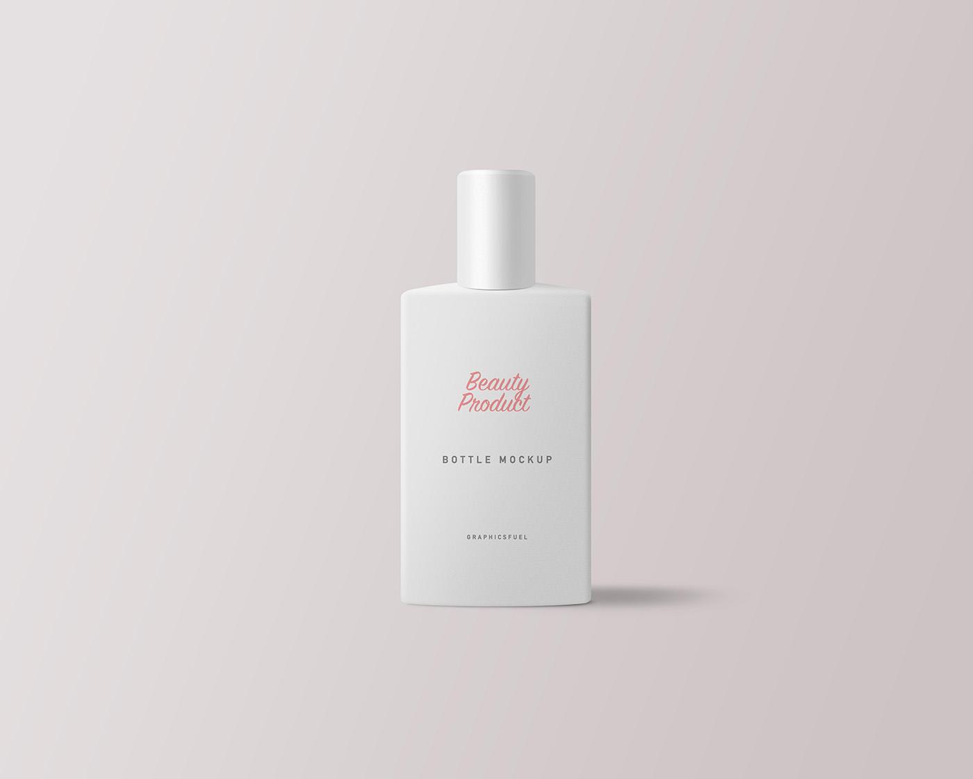 Cosmetic Product Bottle Mockup