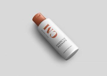 Cosmetic Product Bottle Mockups