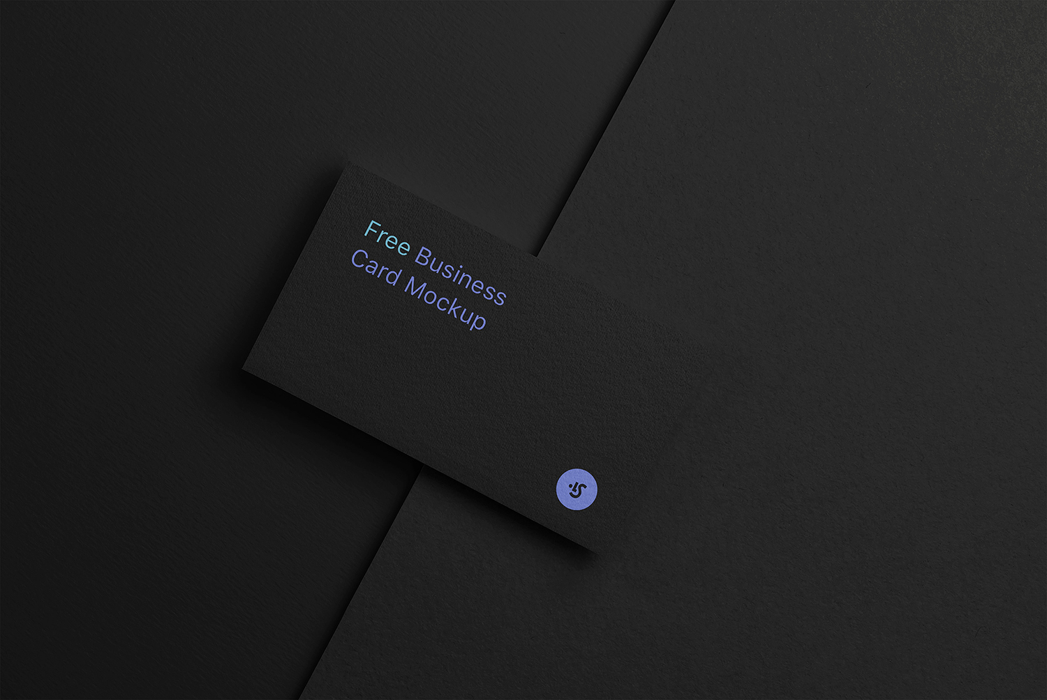 Free Changeable Сolors Business Cards Mockups