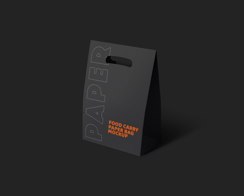 Free Paper Bag Mockup