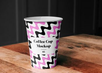 Paper Coffe Cup Mockup
