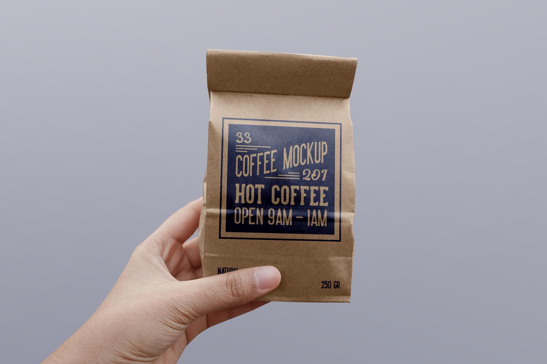 Paper Coffee Bag