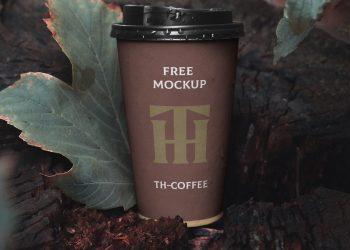 Paper Cup PSD Mockup
