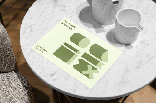 Postcard PSD Mockup