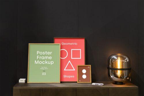 Poster Frames Mockup