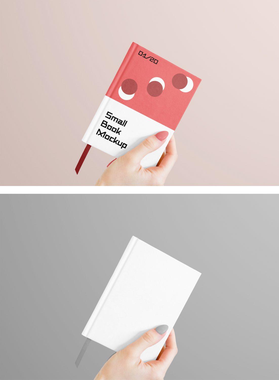 Small Book Mockup
