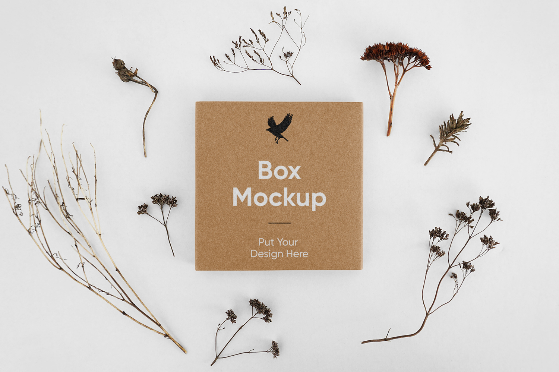 Small Box PSD Mockup