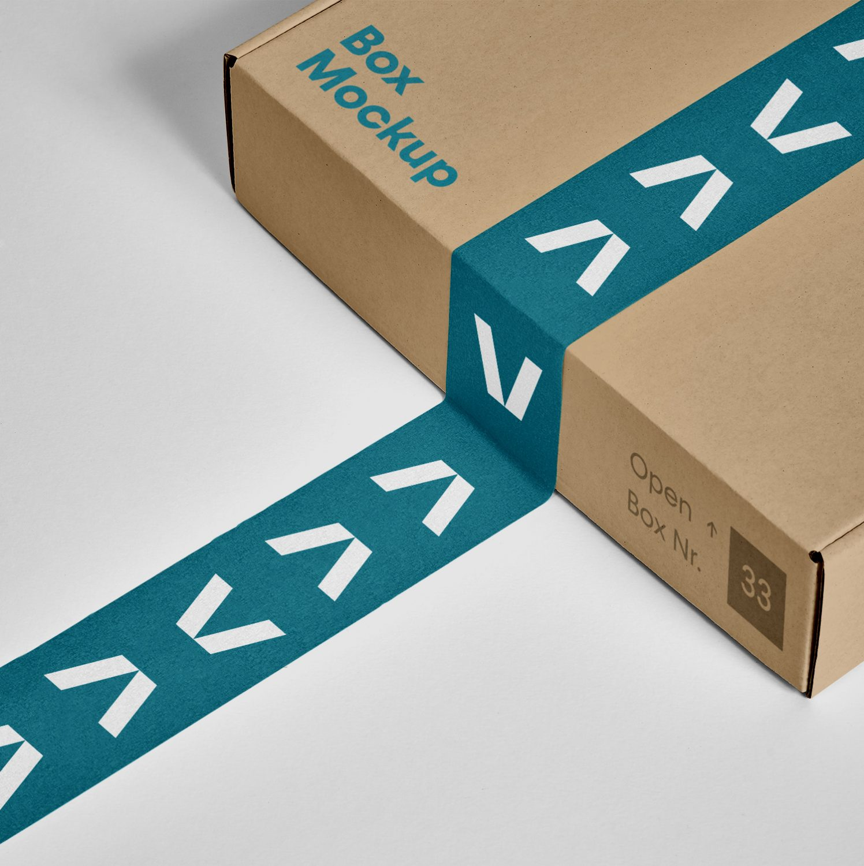 Box PSD Mockup