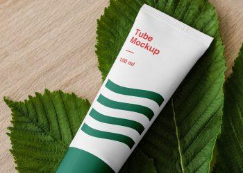 Cosmetics Tube Mockup