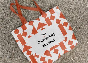 Cotton Canvas Bag Mockup
