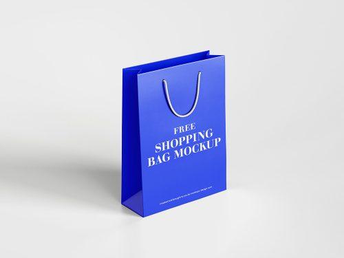 Free Shopping Bag Mockup