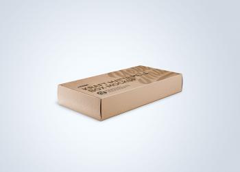 Kraft Matte Pills Box Mockup