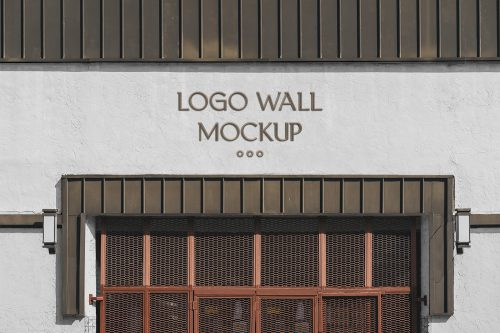 Logo Wall Mockup