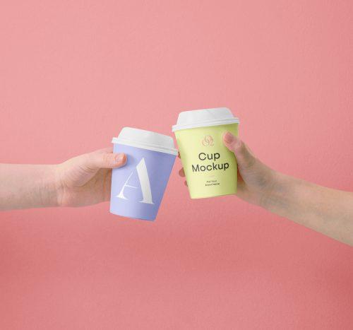 Mini Coffe Cup Mockups