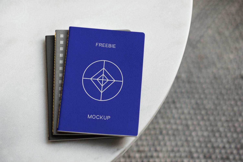Notebook PSD Mockup