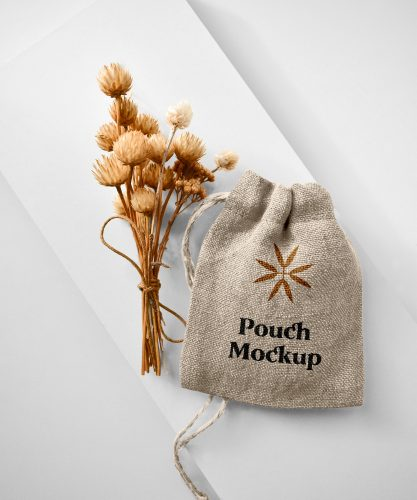Small Pouch Mockup