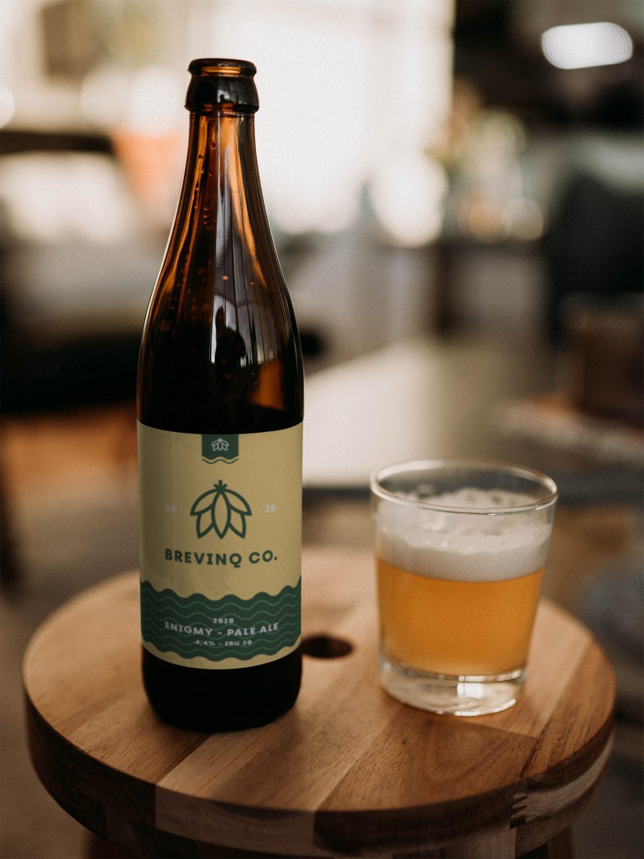 Beer Bottle PSD Mockup