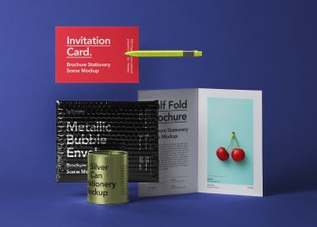 Brochure Envelope Mockup