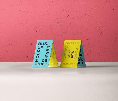 Business Card Branding Mockup