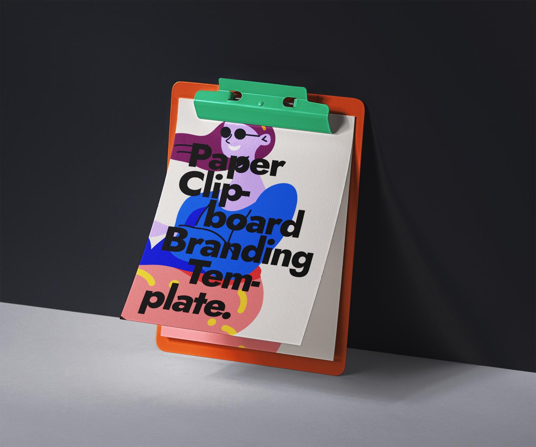 Clipboard Free PSD Mockup