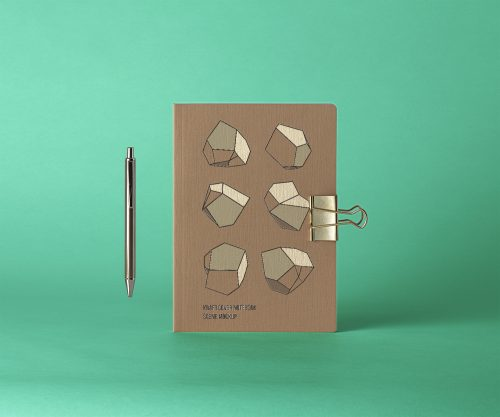 Cover Kraft Psd Notebook Mockup