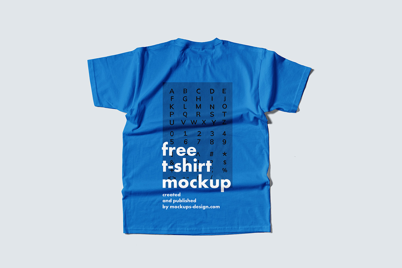 Flat T-Shirt Mockup