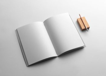 Free Brochure Branding Mockup
