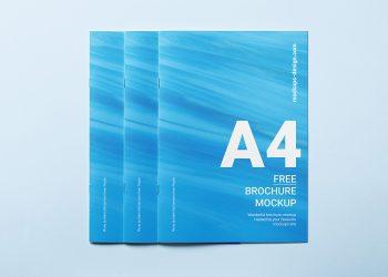 Free Brochure Cover Mockup