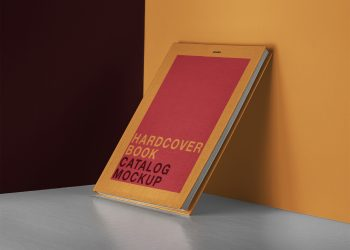 Psd Catalog Book Mockup