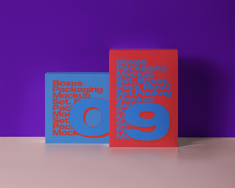 Psd Product Box Packaging Mockup